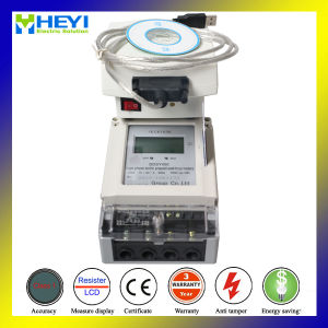 Single Phase Intelligent Prepaid Electric Meters with Insert Card pictures & photos