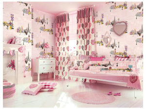 Kids Bedroom Wallpaper china kids bedroom decor wall paper wallpaper with pvc washable