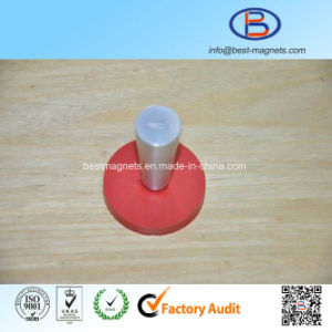 ISO Factory of Permanent Rubber Coated/Coating/Covering Neodymium Magnet Pot/Gripper pictures & photos