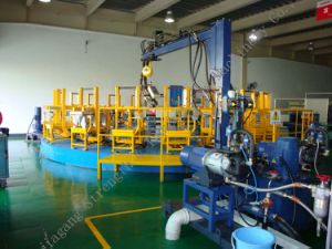 Rotary Table PU Foaming Line RT pictures & photos