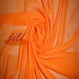100% Spun Polyester Voile Scarf Fabric