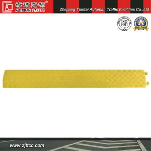 Yellow Industrial Rubber Traffic Cabling Protectors (CC-B51) pictures & photos