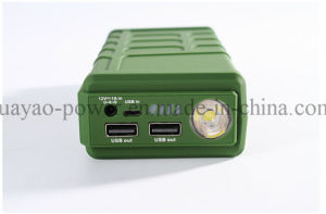 12V 10000mAh Handled Power Bank Jump Starter with LED Light pictures & photos