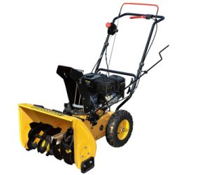 Hot Sell Gasoline 5.5HP Snow Blower with Manual Start (GST55) pictures & photos