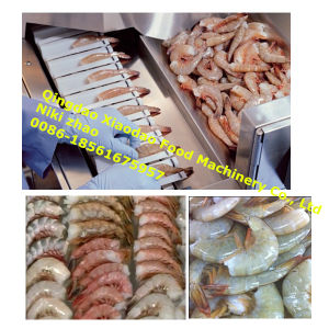 Shrimp Peeling Systems/Shrimp Skin Remove Machine pictures & photos