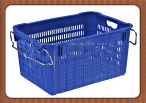 Colored High Quality Plastic Fruit Packaging Basket with Competitive Price pictures & photos