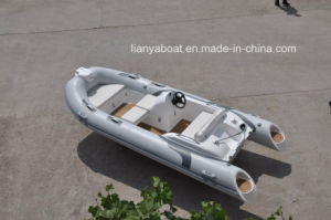 Liya 14ft Semi-Rigid Inflatable Rib Boats Made in China pictures & photos