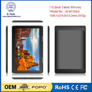 13.3inch 1920X1080 IPS Ad Player Cheap Big Android Tablet PC pictures & photos