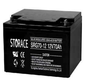 Gel Battery SRG70-12 Industrial Battery 12V 70ah (SRG70-12) pictures & photos