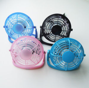 4 Inch USB Plastic Fan pictures & photos