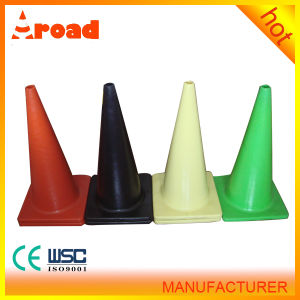 Traffic Safety Facilities 70cm PVC Traffic Cone Roadway Safety pictures & photos