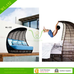 Durable Stylish Rattan Chair Lounger