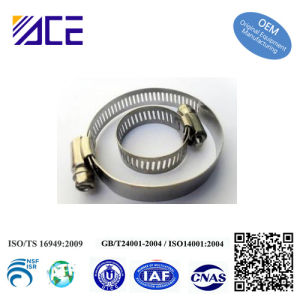 American Type Worm Gear Hose Clamp pictures & photos