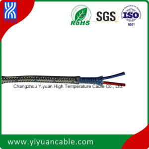 Thermocouple Wire (Glassfiber/Glassfiber/Ss Braid T Type 7X0.2)