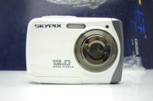 """3 Meters Waterproof 2.4"""" Camera Camcorder 5 Mega Pixels 8x Zoom Anti-Shaking"""