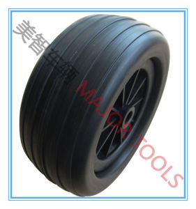 10X4 Heavy Duty PU Foam Wheels for Tool Carts pictures & photos