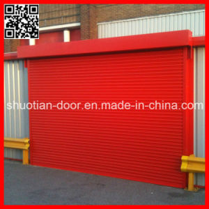 Remote Control Aluminum Roller up Garage Door (ST-003) pictures & photos
