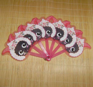 Cheap OEM Plastic Hand Fan pictures & photos