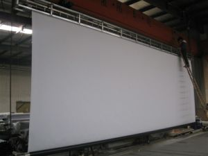 "300"" (4: 3/16: 9) Electric Screen with Remote Control Dheps-101"