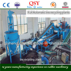 Full Automatic Waste Tire Recycling Plants pictures & photos