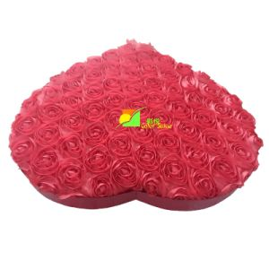 Red Heart Sharp Paper Packing Gift Box pictures & photos