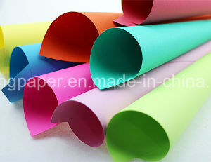 Luxurious 100% Original Wood Pulp Dyed Color Paper Handmake Paper pictures & photos
