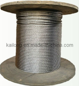 Stainless Steel Wire Rope (SUS304 7X7-10mm) pictures & photos