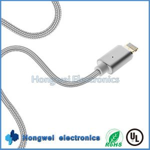 Sync Charger and Data 2 In1 Magnetic USB Cable for Anfroid/iPhone ISO pictures & photos