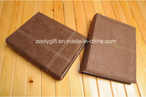 Brown Faux Suede Photo Albums for 4 X 6 Photos pictures & photos