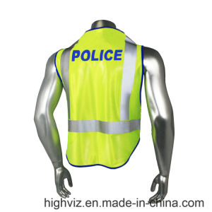 Police Reflective Vest with ANSI07 Certificate (PL-003) pictures & photos