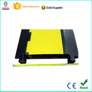 for Parking Lot 3 Channel Rubber Cable Protector with CE pictures & photos