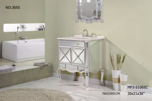 2017 New Mirrored furniture Bathroom Vanity pictures & photos