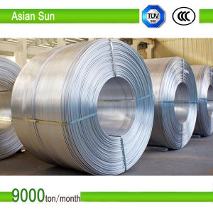 High Purity 9.5mm IEC Approved, Aluminum Rod with ISO14001 Certification pictures & photos