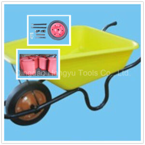 Painted Tray Mining Wheel Barrow pictures & photos