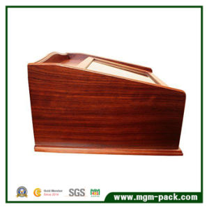 High Quality Lacquer Wooden Pen Box with Drawer pictures & photos