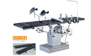 Operating Table 3001/3001A/3001b Stainless Steel Electric Medical Hospital Equipment pictures & photos