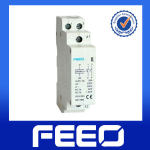 25A 63A AC Modular Contactor 2p DIN Rail Mounted Contactor pictures & photos