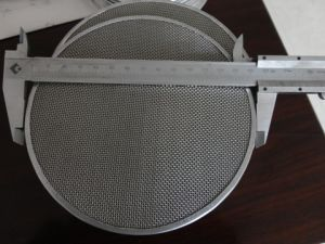 200 Mesh Stainless Steel Disc Round Filter Screen pictures & photos