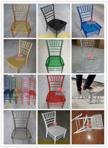 Quality Factory of Wood and Resin Chiavari Chair pictures & photos