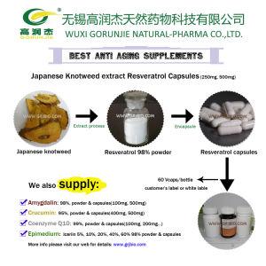 Anti Aging Supplement Resveratrol Capsules 500mg pictures & photos