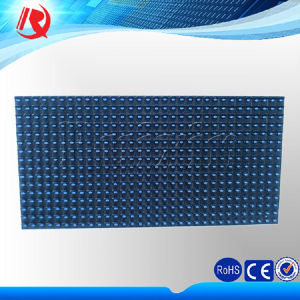 Outdoor Semioutdoor Advertising Single Blue Color P10 LED Display Module pictures & photos