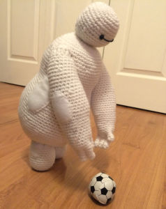 Bighero Baymax Plush Stuffed Knit Doll Toy pictures & photos