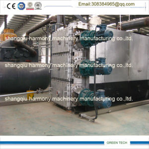 PLC Control Fully Automatic Scrap Tires Recycling Pyrolysis Equipment pictures & photos