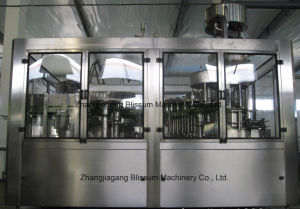 Full Automatic Bottled Juice Washing Filling Capping Machine pictures & photos