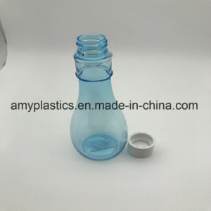 Solid - Colored Plstic Calabash Bottle with Screw Cap for Cosmetic Packaging pictures & photos