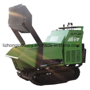 All hydraulic Self Loading Mini Dumper; Mini Transporter; Crawler Dumper pictures & photos