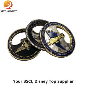 Factory Sell Cheap Challenge Coin with Opener Function pictures & photos