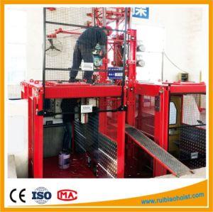 Hot Galvanized Mast Section Gjj Origianl Passenger Hoist pictures & photos