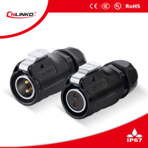 Waterproof Socket with Dust Cover IP67 Connector for LED Screen pictures & photos