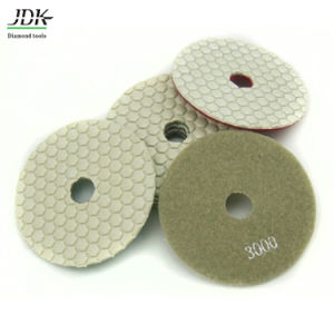 High Quality 100mm Dry Diamond Polishing Pads for Granite pictures & photos